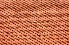 De tegels van het baksteendak Stock Afbeelding