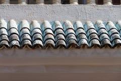 De tegels van het dak Stock Foto's