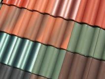 De tegels van het dak Royalty-vrije Stock Afbeelding