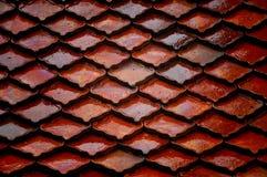 De tegels van het dak Royalty-vrije Stock Afbeeldingen