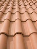 De tegels van het dak Stock Afbeeldingen