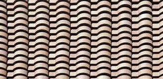 De Tegels van het dak - patroon/achtergrond Stock Afbeeldingen