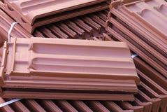 De tegels van het dakwerk Stock Foto's