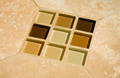 De tegels van het glas Royalty-vrije Stock Fotografie