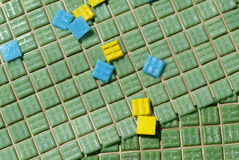 De tegels van het mozaïek Royalty-vrije Stock Afbeeldingen