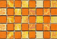 De tegels van het terracotta Royalty-vrije Stock Foto