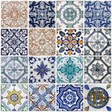 De tegels van Lissabon Royalty-vrije Stock Foto