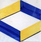 De tegels van Lissabon Stock Foto's