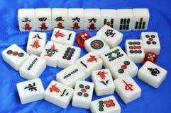 De tegels van Mahjong Stock Afbeeldingen