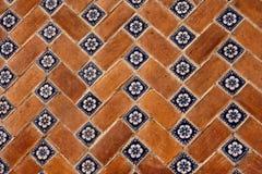 De tegels van Puebla stock afbeeldingen