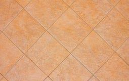De tegelsachtergrond van het terracotta stock foto's