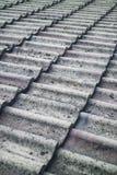 De tegelstextuur van het dak Stock Afbeeldingen