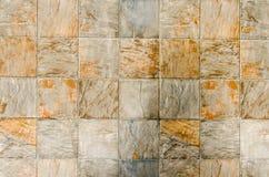 De tegelvloer van het steenblok Stock Foto