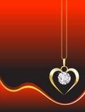 De tegenhanger van de diamant vector illustratie