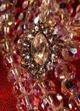 De tegenhanger van de diamant stock foto