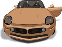 De tekening van de auto Stock Afbeeldingen