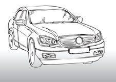 De tekening van de auto Royalty-vrije Stock Afbeelding