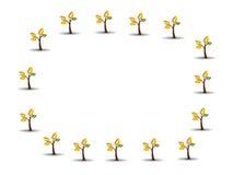 De tekening van de illustratie van boom Stock Afbeelding