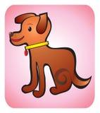 De tekening van de kinderen van de hond Royalty-vrije Stock Afbeeldingen