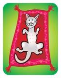De tekening van de kinderen van de kat Royalty-vrije Stock Afbeelding