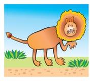 De tekening van de kinderen van de leeuw Royalty-vrije Stock Fotografie