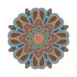 De tekening van de Mandalakrabbel Stock Foto