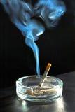 De tekening van de rook. Royalty-vrije Stock Afbeeldingen