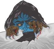 De tekening van de zombiehand Royalty-vrije Stock Afbeeldingen