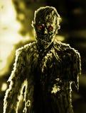 De tekening van de zombiezakenman Illustratie op thema van verschrikking stock illustratie