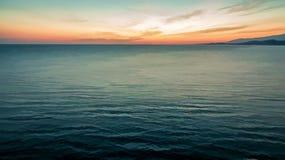 De tekening van een overzees landschap Stock Foto