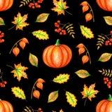De tekening van de de herfsthand stock illustratie