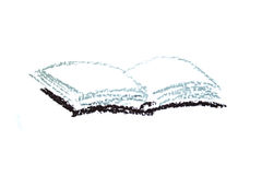 De tekening van het boek Royalty-vrije Stock Foto's