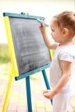 De tekening van het kind Royalty-vrije Stock Afbeeldingen