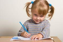 De tekening van het kind Stock Foto