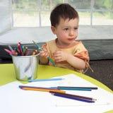 De tekening van het kind Royalty-vrije Stock Fotografie