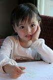 De tekening van het kind Stock Foto's