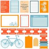 De tekens en de symbolen voor organiseerden uw ontwerper Stock Fotografie