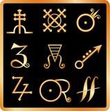 De tekens van de alchimie no.3 Royalty-vrije Stock Foto's