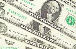 De tekens van de contant gelddollar. Textuur. Royalty-vrije Stock Foto's