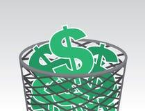De Tekens van de huisvuildollar Stock Foto