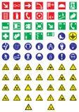 De tekens van de informatie Royalty-vrije Stock Afbeelding