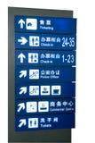 De tekens van de luchthaven Royalty-vrije Stock Foto's