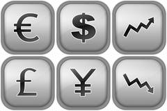De tekens van de munt Vector Illustratie