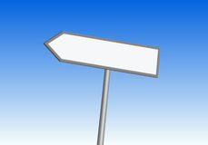 De tekens van de richting vector illustratie
