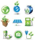 De tekens van Eco. Stock Fotografie