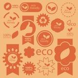De tekens van Eco. Stock Afbeelding