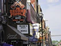 De tekens van Nashville Royalty-vrije Stock Foto's