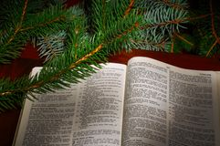 De tekst van Kerstmis Royalty-vrije Stock Afbeelding