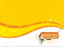 De tekst vectorillustratie van de steekproef die op wit wordt geïsoleerd3 Royalty-vrije Stock Foto's