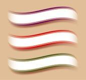 De tekstmalplaatje van het lint Royalty-vrije Stock Fotografie